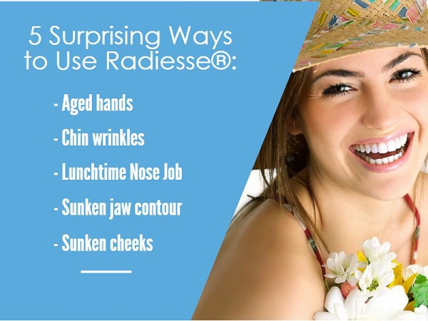 Infographic: Uses of Radiesse
