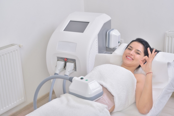 CoolSculpting patient in Los Angeles